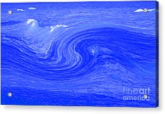 Alpha Wave By Jrr Acrylic Print by First Star Art