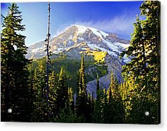 Alpine Glow 2 Acrylic Print by Marty Koch