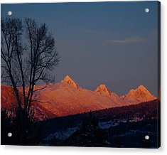 Acrylic Print featuring the photograph Alpenglow by Raymond Salani III