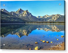 Alpine Lake Reflections Acrylic Print