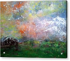Alpine Meadow Acrylic Print