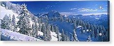Alpine Scene, Bavaria, Germany Acrylic Print by Panoramic Images