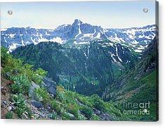Alpine Vista Near Durango Acrylic Print