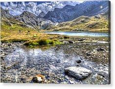 Alps Southern France Acrylic Print by Seruddin Salleh