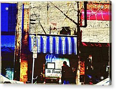 Al's Breakfast And U Of M Acrylic Print