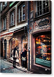 Acrylic Print featuring the photograph Alsace Slice Of Life by Jim Hill