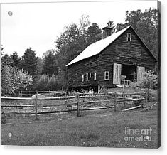 Alstead Barn Acrylic Print