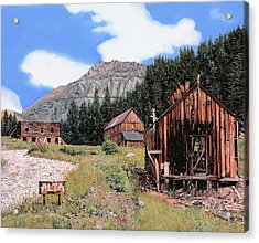 Alta In Colorado Acrylic Print