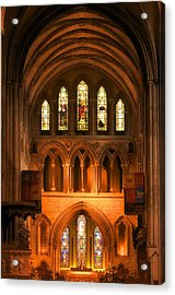 Altar Of St. Patrick's Cathedral Acrylic Print