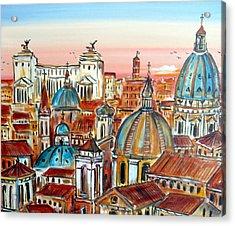 Altare Della Patria In Roma Acrylic Print