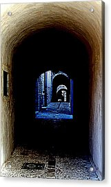 Altered Arch Walkway Acrylic Print