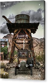 Alternative Fuel Acrylic Print by Eddie Yerkish