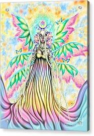 Altheia's Light Acrylic Print by Coriander  Shea