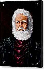 Altions...painted When 17years Old Acrylic Print by Ron Haist