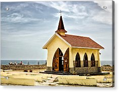 Alto Vista Chapel Aruba Acrylic Print