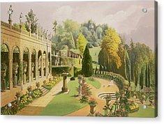 Alton Gardens Acrylic Print