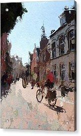 Altstadt Leer Acrylic Print by Steve K