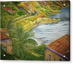 Am Taormina Acrylic Print