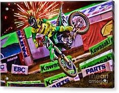 Ama 450sx Supercross Chad Reed Acrylic Print