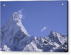Acrylic Print featuring the photograph Ama Dablam Nepal by Rudi Prott