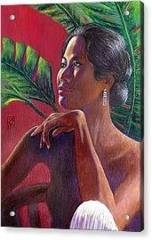 Ama Lia Acrylic Print by Jack Adams