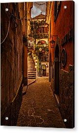 Amalfi Alleyway Acrylic Print