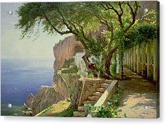 Amalfi Acrylic Print by Carl Frederick Aagaard
