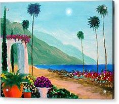 Amalfi Colors Acrylic Print by Larry Cirigliano