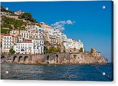 Amalfi Hills Acrylic Print by Gurgen Bakhshetsyan