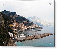Amalfi Italy Acrylic Print by Bill Cannon