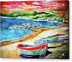 Amalfi Acrylic Print