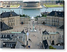 Amalienborg Palace Copenhagen Acrylic Print