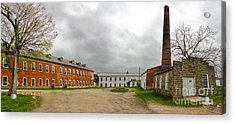Amana Colonies Old Brewery - 02 Acrylic Print by Gregory Dyer