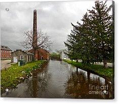 Amana Colonies Old Brewery - 04 Acrylic Print by Gregory Dyer