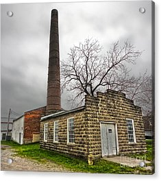 Amana Colonies Old Brewery - 01 Acrylic Print by Gregory Dyer
