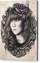 Amanda Denis - Tribute Portrait  Acrylic Print