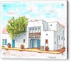 Amargosa Opera House - Nevada Acrylic Print