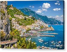 Amazing Amalfi Acrylic Print
