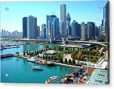 Amazing Chicago Acrylic Print