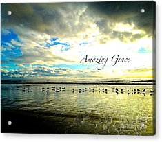 Acrylic Print featuring the photograph Amazing Grace Sunrise 2 by Margie Amberge
