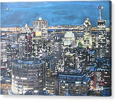 Amazing Montreal Acrylic Print by Vikram Singh