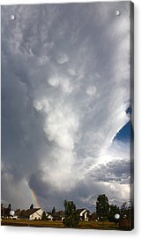 Acrylic Print featuring the photograph Amazing Storm Clouds by Shane Bechler