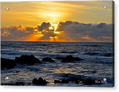 Amazing Sunset Acrylic Print