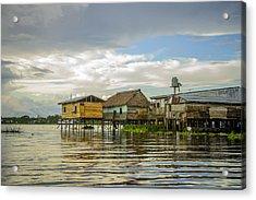 Amazon Beach House Acrylic Print