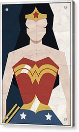 Acrylic Print featuring the digital art Amazon Princess by Michael Myers