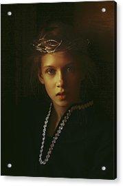 Ambers Embers Acrylic Print by Alexander Kuzmin
