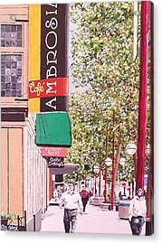 Ambrosia At Eleventh And K Acrylic Print by Paul Guyer
