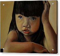 Amelie-an 3 Acrylic Print by Thu Nguyen