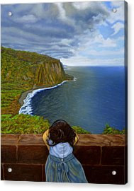 Amelie-an 's World Acrylic Print