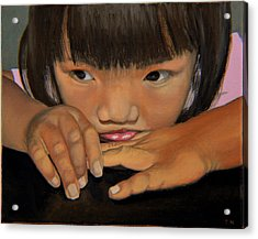 Amelie-an Acrylic Print